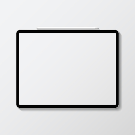 Digital modern tablet screen mockup Stockfoto - 118927739