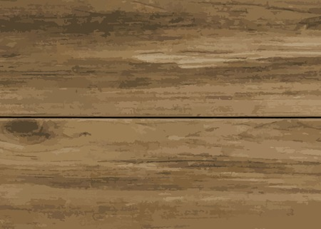 Brown wooden textured background vector Illustration