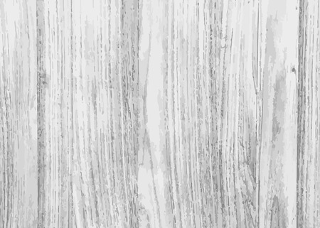 Rustic white wooden textured background vector Vector Illustration