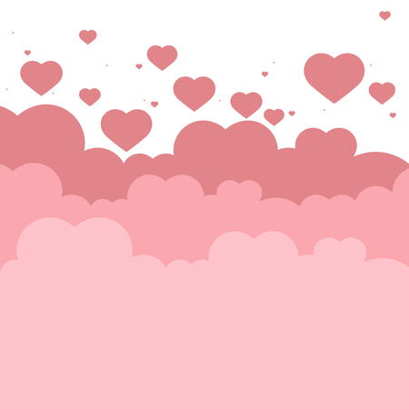 Valentine's day vector design concept 向量圖像