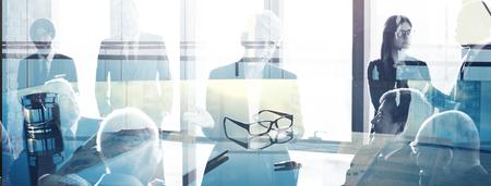Business people in a meeting Zdjęcie Seryjne