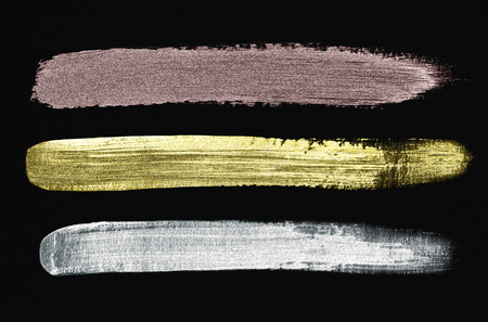 Colorful brush strokes textured background Banque d'images