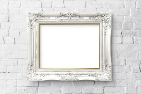 Vintage premium frame mockup design