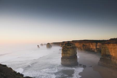 View of the Twelve Apostles, Australia Stock Photo