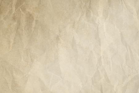 Vintage crumpled paper textured background 写真素材 - 119081153