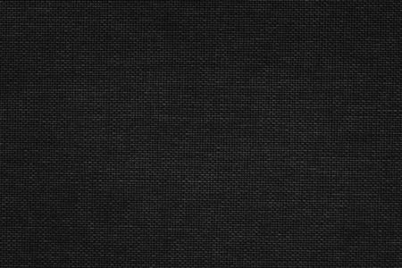 Black fabric textile textured background 写真素材