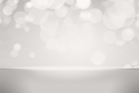 Gray bokeh textured plain product background