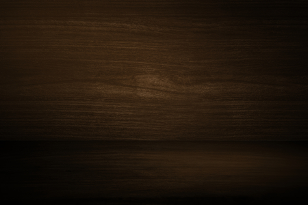 Dark brown wooden textured product background Фото со стока