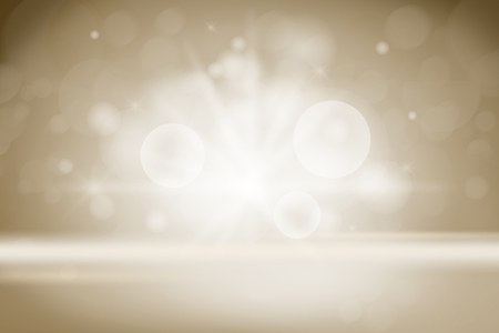 Beige bokeh textured plain product background