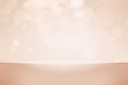 Rose gold bokeh textured plain product background