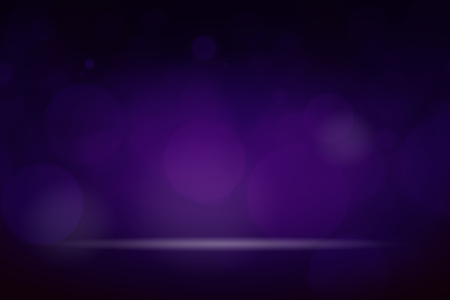 Purple bokeh textured plain product background Stockfoto - 118991644