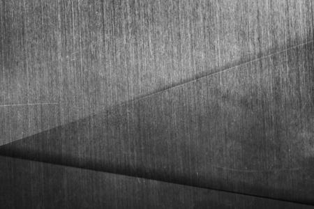 Dark silver metallic triangle patterned background Zdjęcie Seryjne