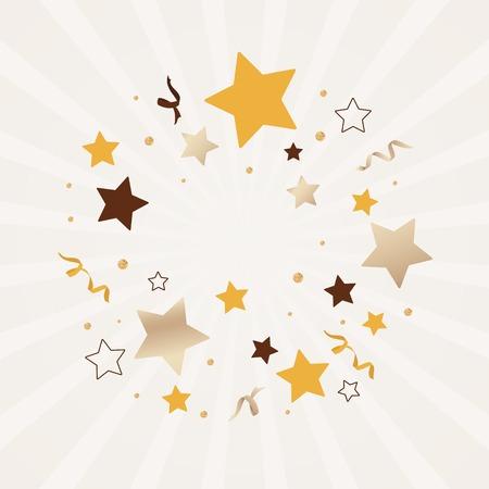 Festive stars background design vector Reklamní fotografie - 119601129
