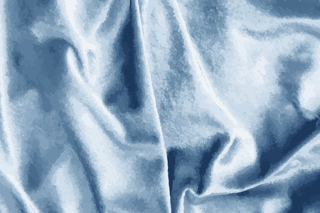 Luxury shiny blue silk fabric textured vector Stok Fotoğraf - 124219951