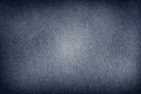 Blue denim jeans fabric texture background vector  イラスト・ベクター素材