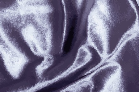 Luxury shiny purple silk fabric textured vector