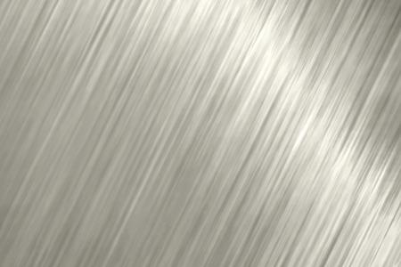 Blond metallic slanted lines textured background vector