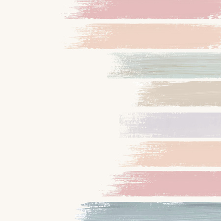Pastel acrylic brush stroke vector