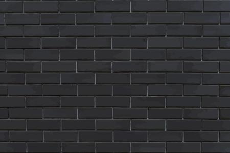 Strukturierter Hintergrundvektor des dunkelgrauen Ziegelsteines Vektorgrafik