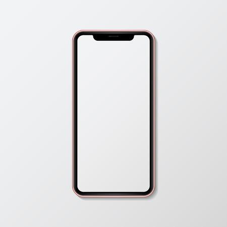 Digitales Handy-Bildschirmmodell