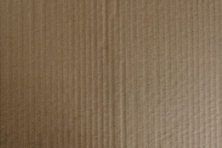 Brown corrugated paper textured background
