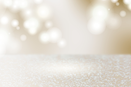 Silver brown bokeh textured plain background