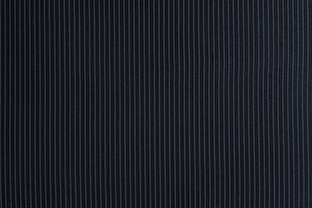 Navy blue corrugated fabric textured background Reklamní fotografie