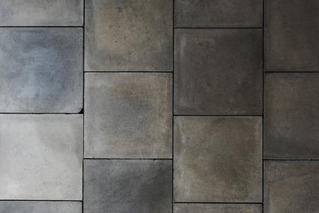 Grunge gray and white tiles textured background Reklamní fotografie