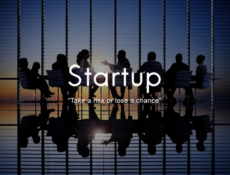 Startup New Business Launch Aspirations Strategy Concept