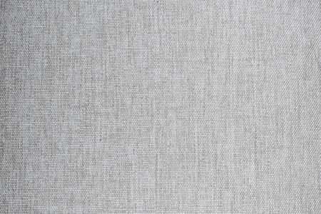 Gray linen weave fabric textured background