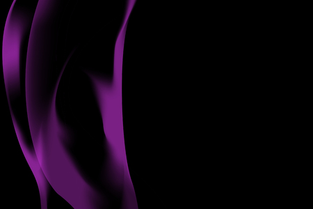 Purple smoke abstract background vector