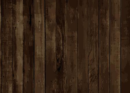 Brauner hölzerner strukturierter Hintergrundvektor