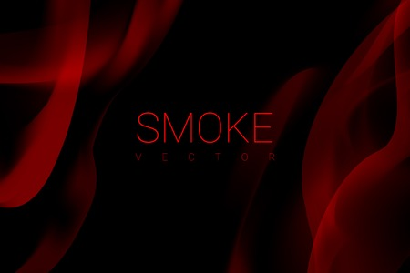 Red smoke abstract background vector Stockfoto - 119998085