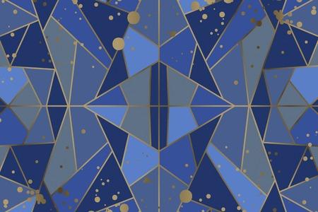 vecteur de fond géométrique abstrait