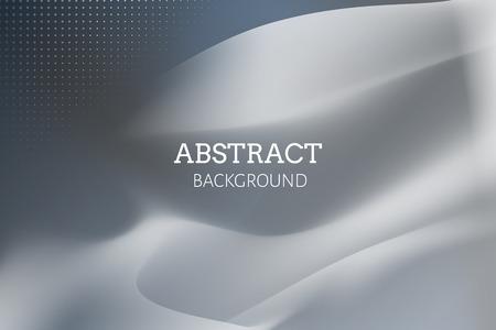 Grauer abstrakter Hintergrunddesignvektor Vektorgrafik