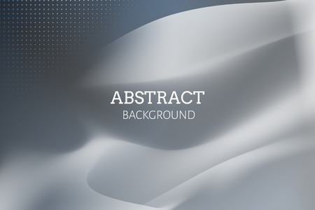 Gray abstract background design vector