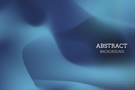 Blue abstract background design vector Illustration