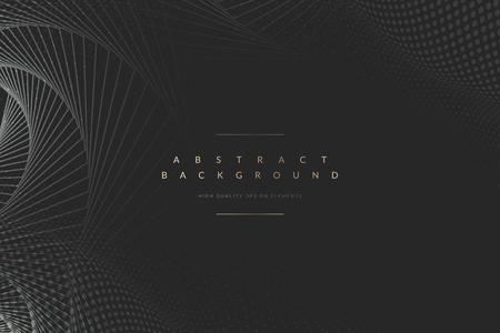 Abstrakter geometrischer gemusterter Hintergrundvektor