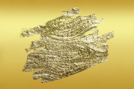 Goldpinsel strich strukturierten Hintergrund