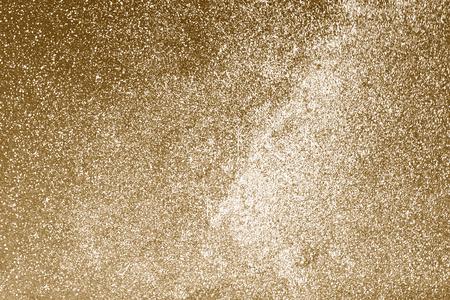 Shiny gold glitter textured background