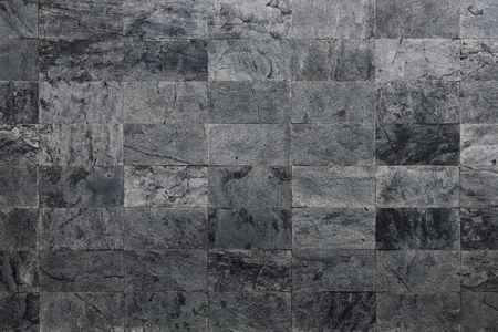 Gray marble tiles textured background