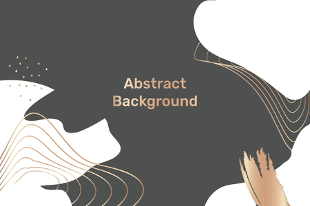 Vector de fondo estampado topográfico abstracto Ilustración de vector