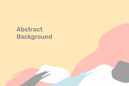 Vettore modellato topografico astratto del fondo