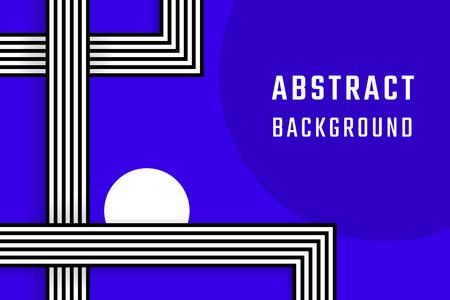 Retro blue abstract background design vector Иллюстрация
