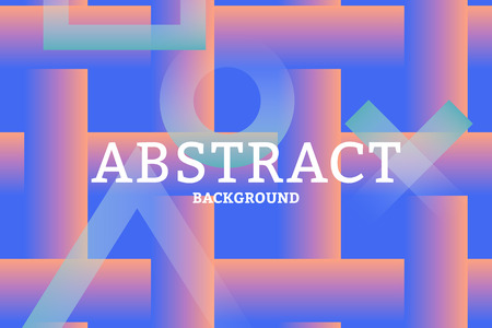 Colorful geometric abstract patterned background vector Ilustração