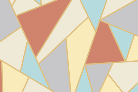 Abstract geometric mosaic background vector Archivio Fotografico - 120250807