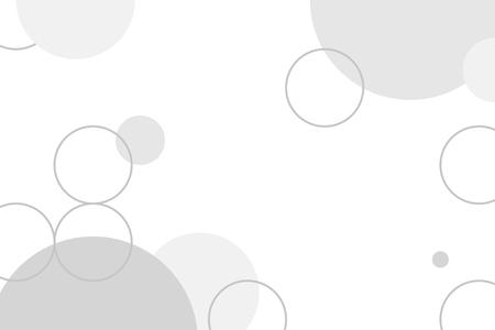 Gray circle geometric pattern background vector