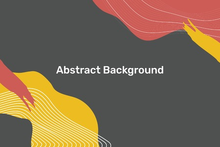 Abstract topographic patterned background vector Иллюстрация