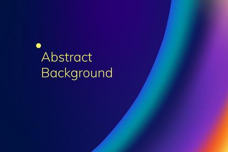 Vettore di sfondo astratto onda colorata