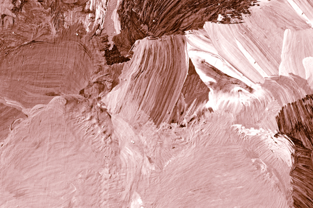 Pink oil paint brush stroked textured background